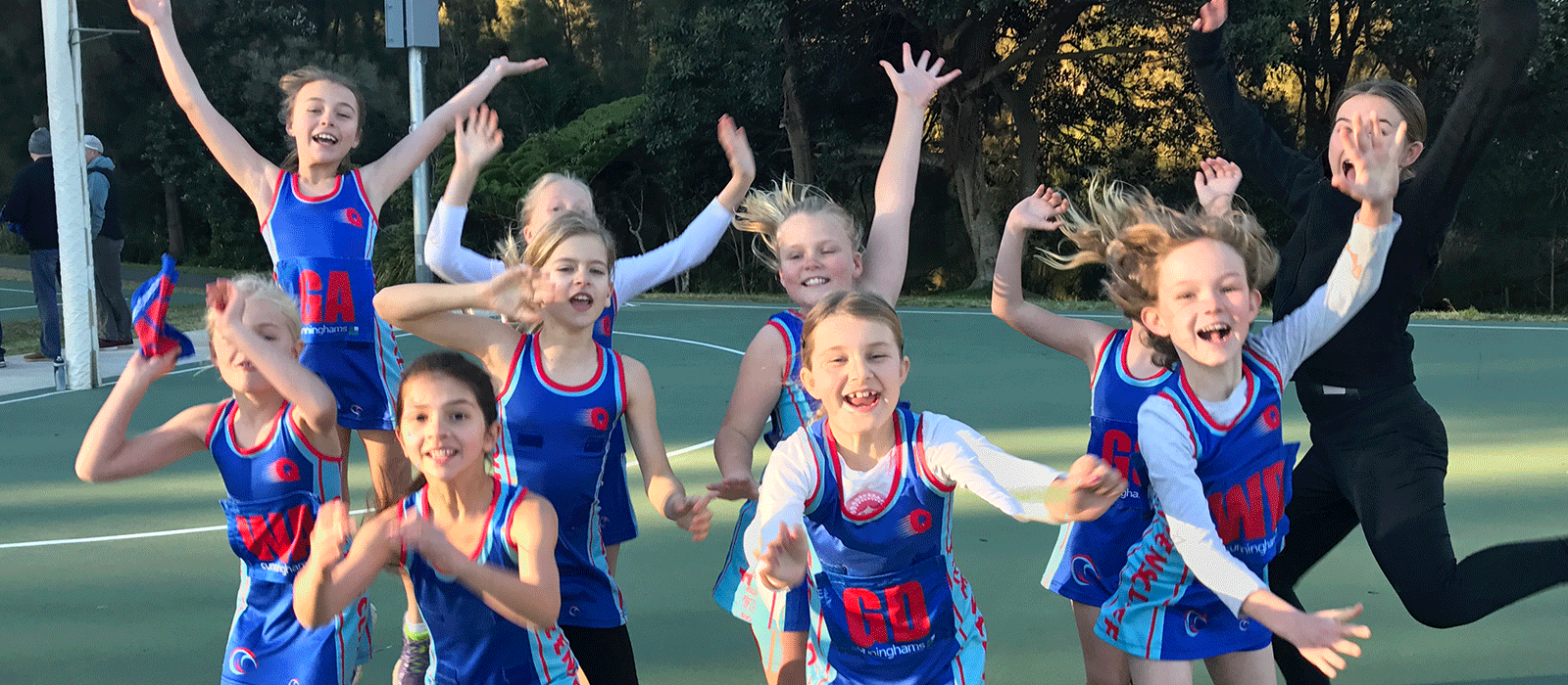 Queenscliff Netball Club 2019 – U12 Teams
