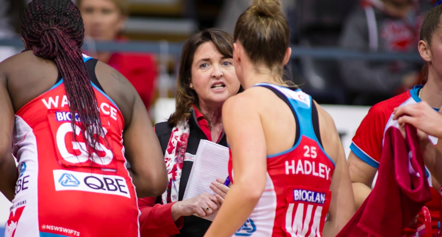FREE Coaching Clinic with Swifts Assistant Coach – Anita Keelan