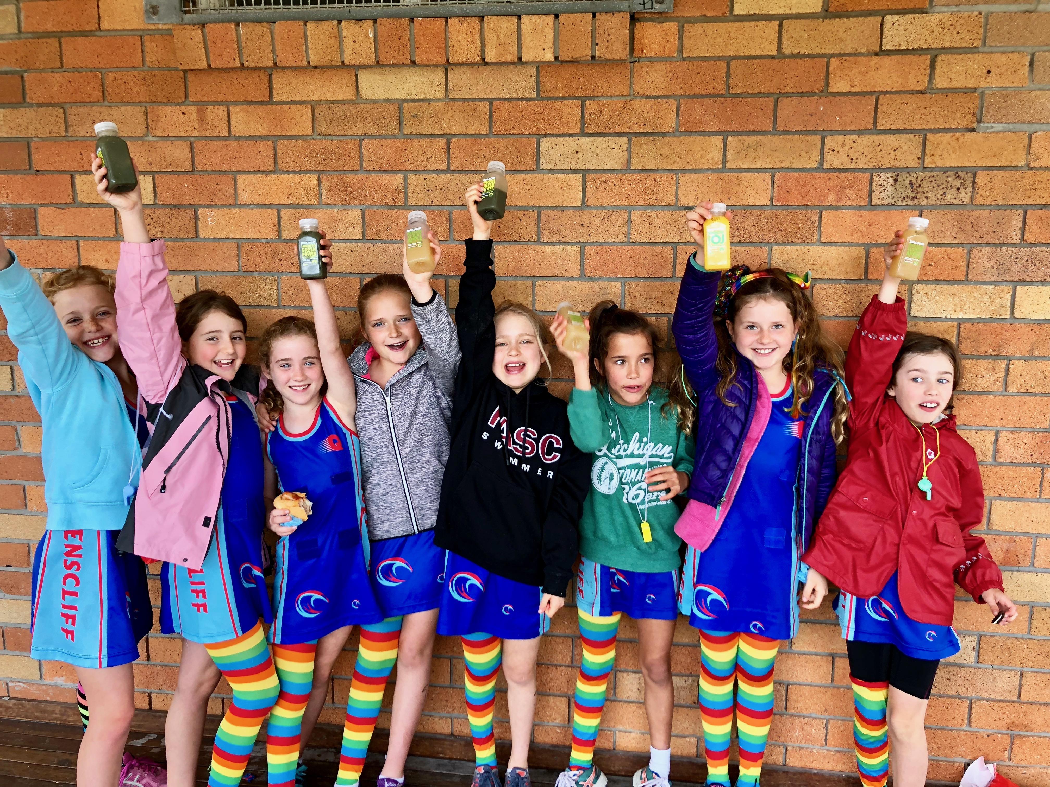 Queensie Netball Club End of Year Presentation for Nettas & Juniors